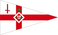City Livery Yacht Club Burgee