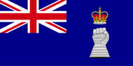 Royal Armoured Corps Yacht Club Ensign