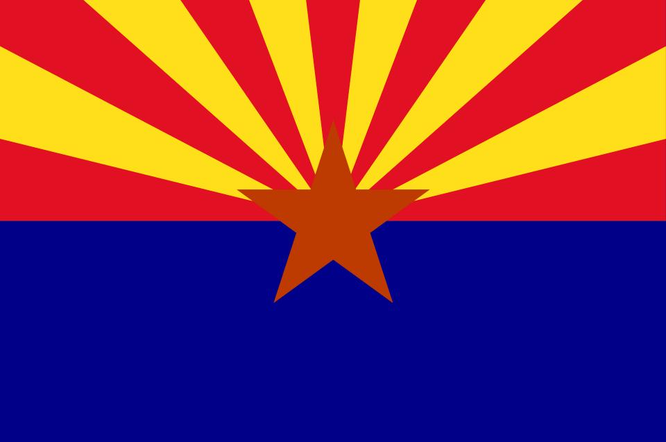Buy Arizona State Flag Online | Printed & Sewn Flags | 13 sizes