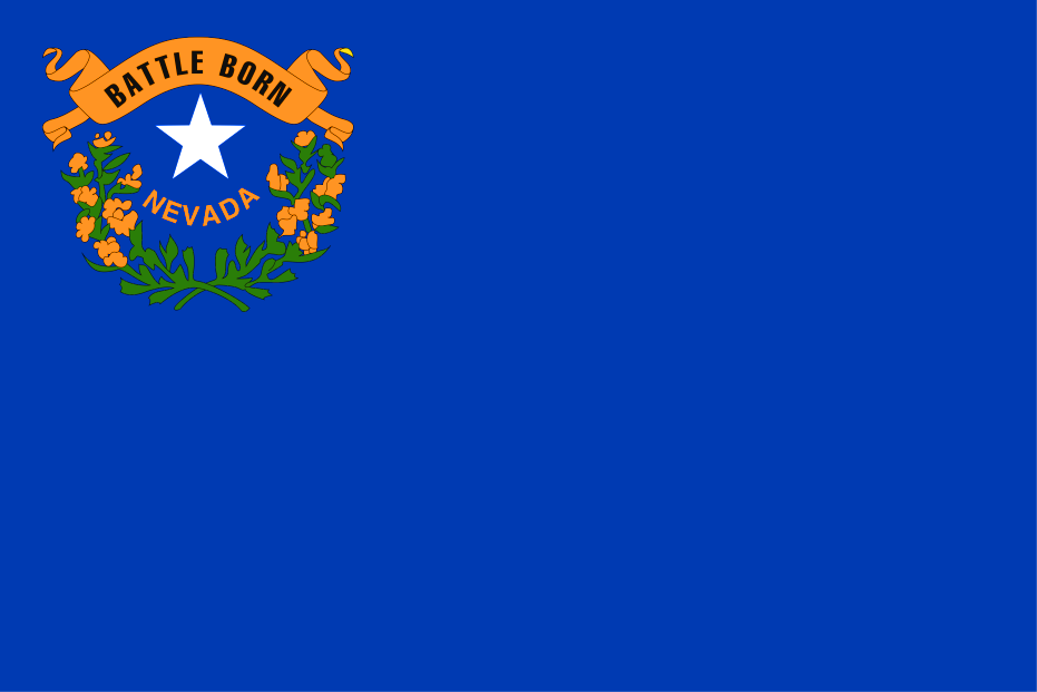 Buy Nevada State Flag Online Printed Sewn Flags 13 Sizes