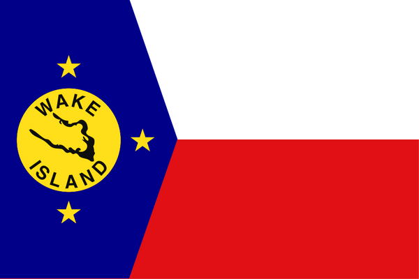 Wake Island Local Unofficial Flag
