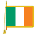 Ceremonial Ireland (Eire) Flag