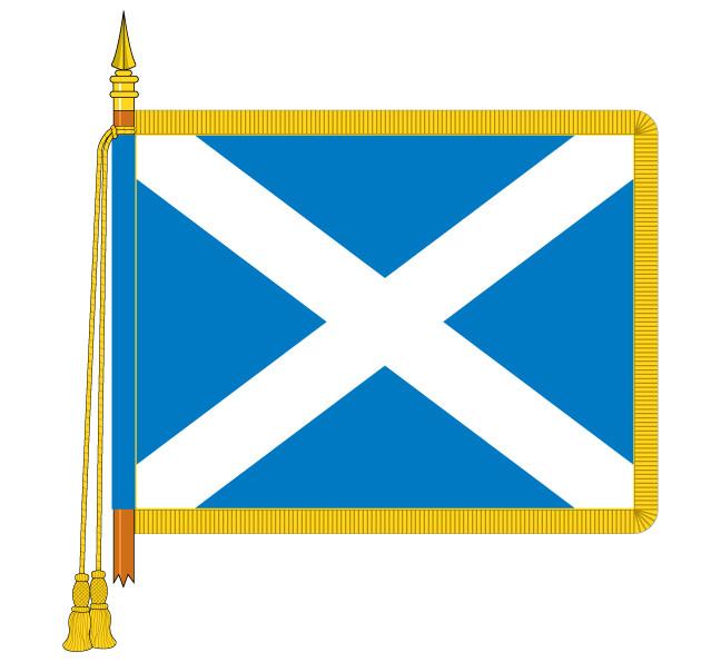Sewn St Andrews Saltire
