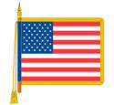 Ceremonial USA Flag