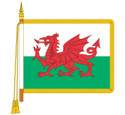 ceremonial Welsh Dragon Flag