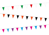 Stock Colour Bunting