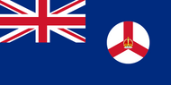 Crown Colony of Singapore Flag