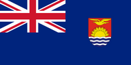 Gilbert and Ellice Islands Flag