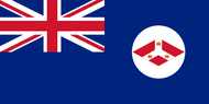 The British Straits Settlements Flag