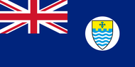 Crown Colony of Penang Flag