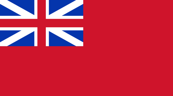 (1707 - 1801) Red Ensign