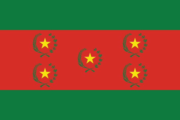1st Bolivian State Flag