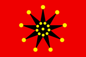 Chinese Army Wuhan Flag