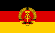 East Germany State (1959 - 1990) Flag