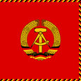 East Germany President of State Council Flag