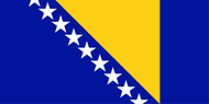 Bosnia & Herzegovina National Flag
