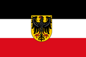 Weimar Republic (1921 - 1927) State Ensign
