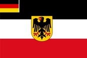 Weimar Republic (1926 - 1933) State Ensign