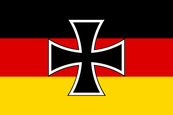 Weimar Republic Defence Minister (1919 - 1921) Flag