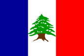 State of Greater Lebanon Flag