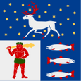 Västerbotten County Flag