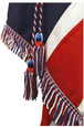 Red, White & Blue Silk Cord & Tassels