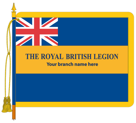 Royal British Legion Branch Standard