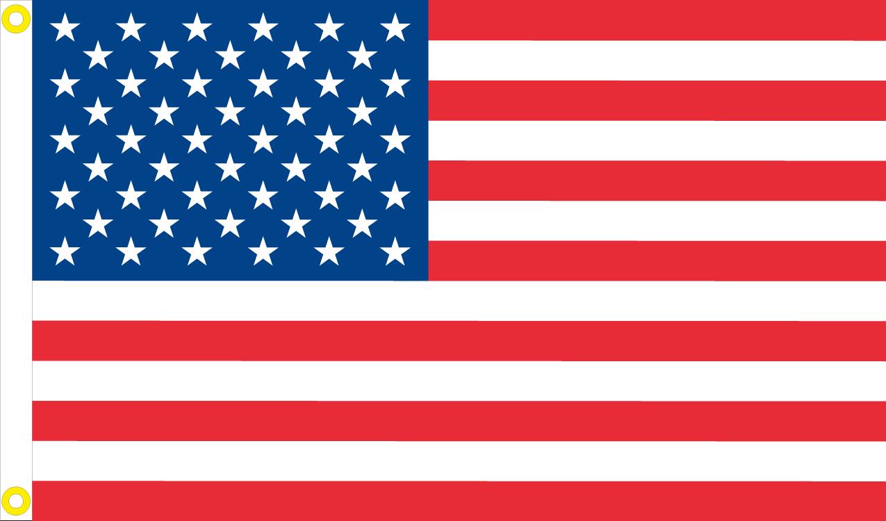 Flag Banner Plain Red Flag 3ft x 2ft 90cm x 60cm