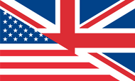 UK/USA Friendship Flag