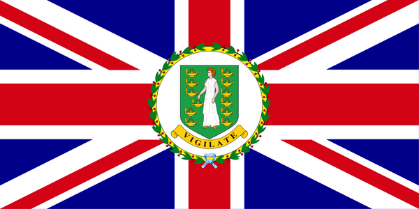 British Virgin Islands Governor Flag