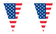USA Bunting (triangular)