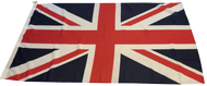 "27"" x 18"" Woven Polyester Union Flag"