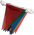11.5m Multicoloured Bunting