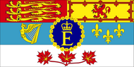 Personal flag of HM The Queen of Canada