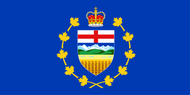 Alberta Lt Governor Flag