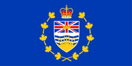 British Columbia Lt Governor Flag