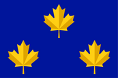 Canadian Vice Admiral (alternative) Flag