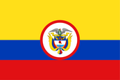 Colombia Presidential Flag