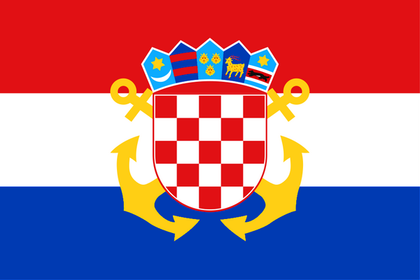 Croatia Naval Ensign