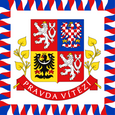 The Czech Republic Presidential Flag