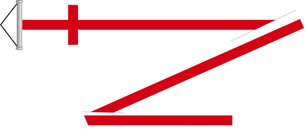 England Pennant (or vimpel)