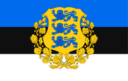 Estonia Presidential Flag