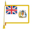 Ceremonial British Indian Ocean Territory Flag