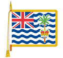 Ceremonial British Virgin Islands Flag