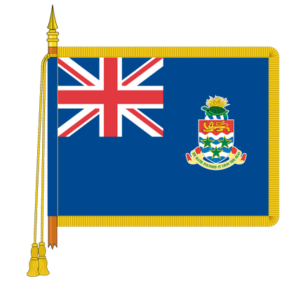 Ceremonial Central African Republic Flag