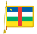 Ceremonial Chad Flag