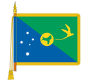 Ceremonial Cocos Islands Flag