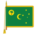Ceremonial Colombia Flag