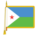 Ceremonial Dominica Flag