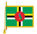 Ceremonial Ecuador Flag
